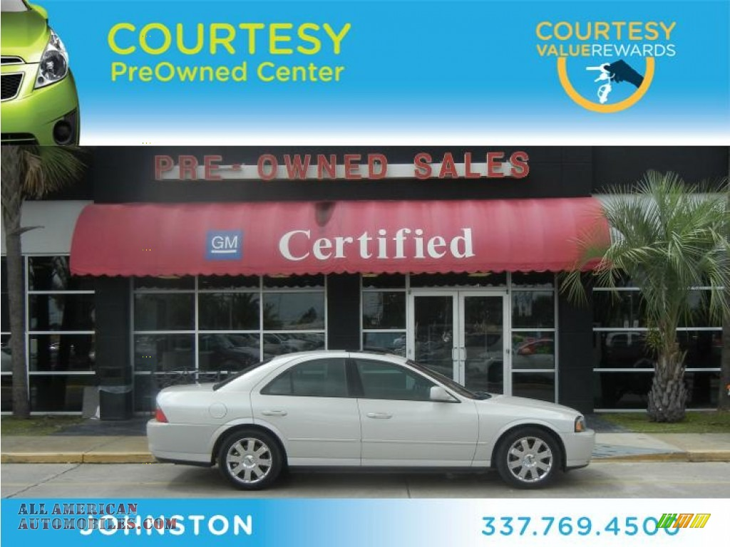 2004 Lincoln Ls V8 In Cashmere Tri Coat Photo 14 675697 All American Automobiles Buy