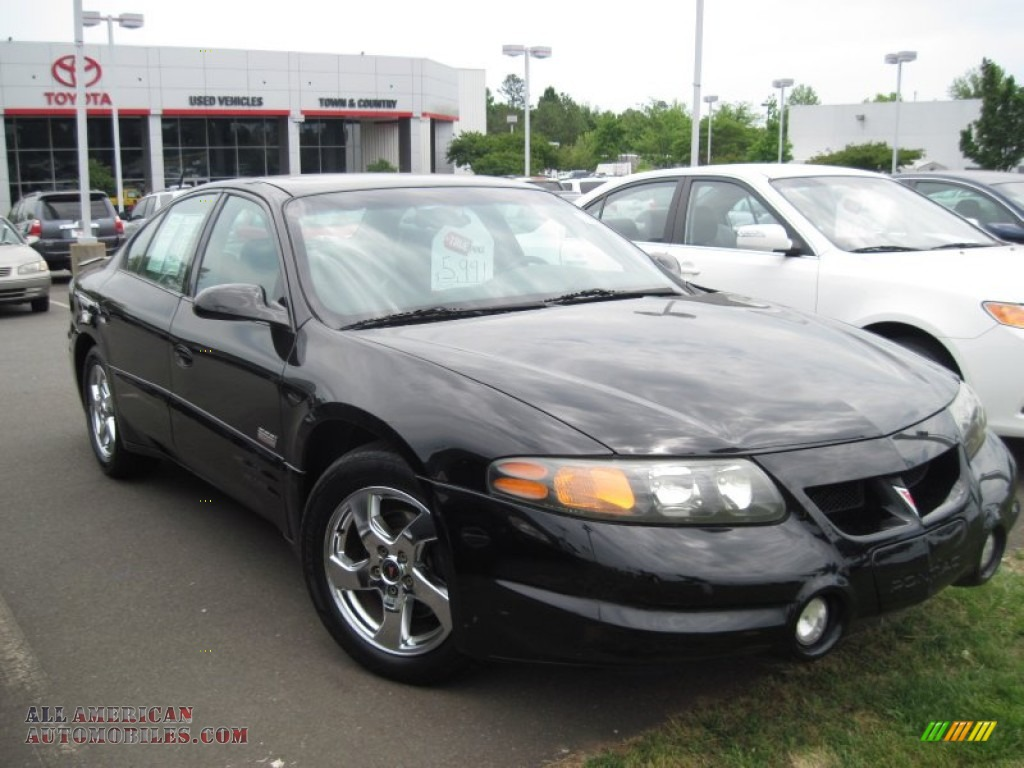 2003 Pontiac Bonneville Ssei In Black 120971 All