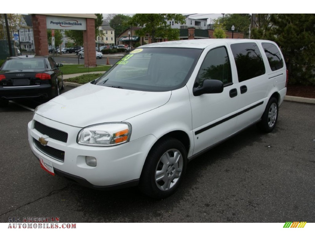 2006 chevrolet uplander ls in summit white 211672 all american automobiles buy american. Black Bedroom Furniture Sets. Home Design Ideas