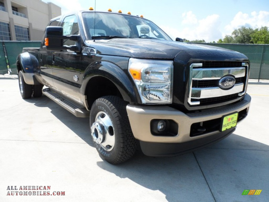 2012 ford f350 super duty king ranch crew cab 4x4 dually in tuxedo black metallic b96142 all. Black Bedroom Furniture Sets. Home Design Ideas