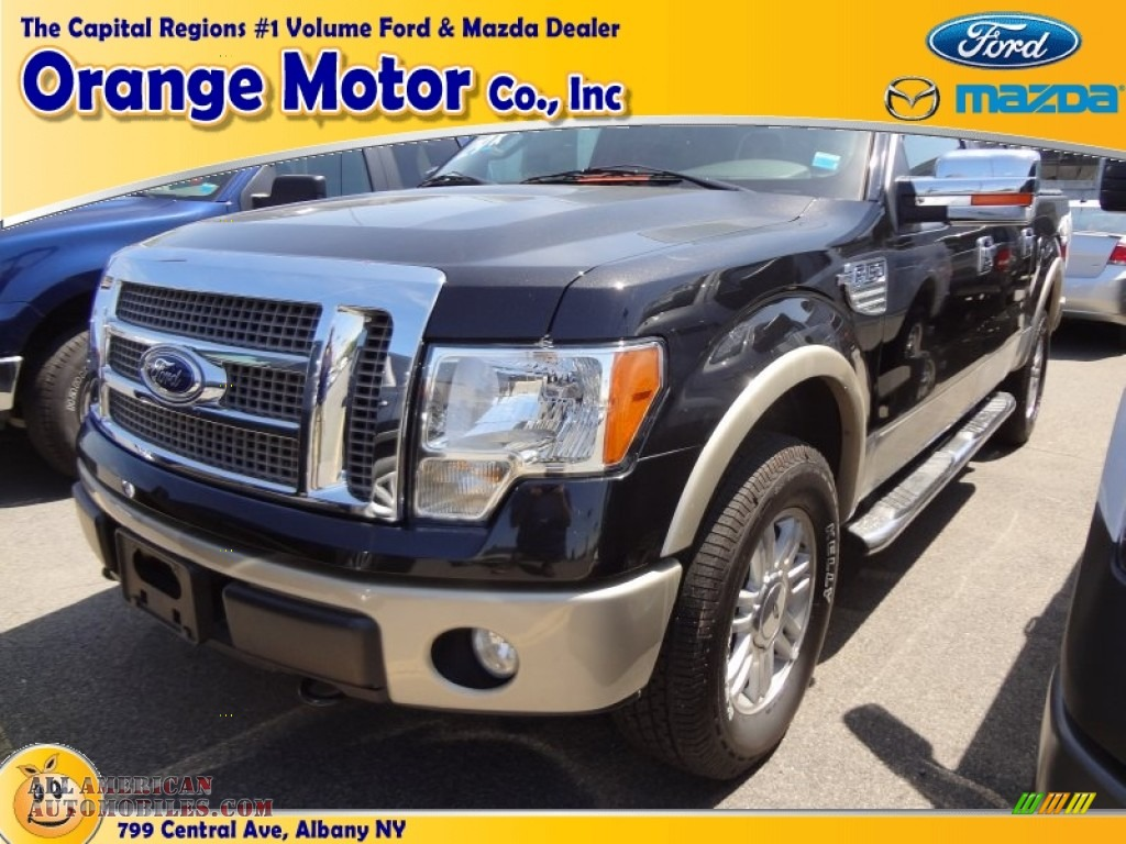 2010 ford f150 lariat supercrew 4x4 in tuxedo black photo for Orange motors albany new york