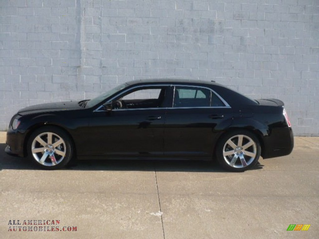 2012 chrysler 300 srt8 in gloss black 801085 all american automobiles buy american cars. Black Bedroom Furniture Sets. Home Design Ideas