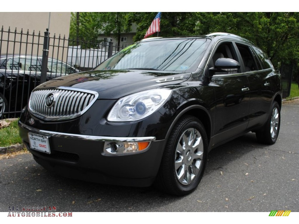 2011 Buick Enclave Cxl Awd In Carbon Black Metallic 177485 All American Automobiles Buy