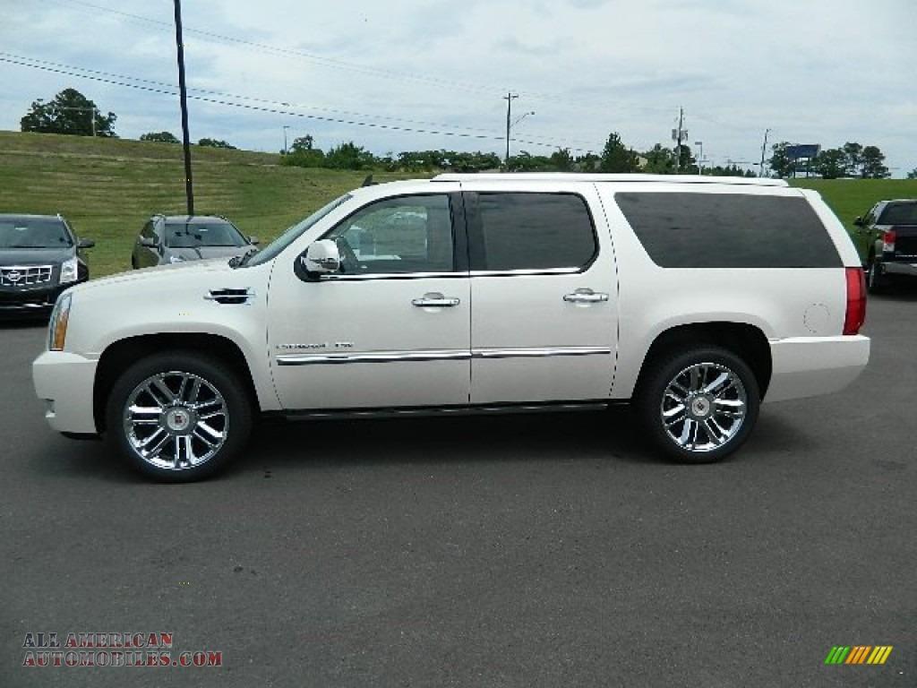 2012 Cadillac Escalade Esv Platinum Awd In White Diamond