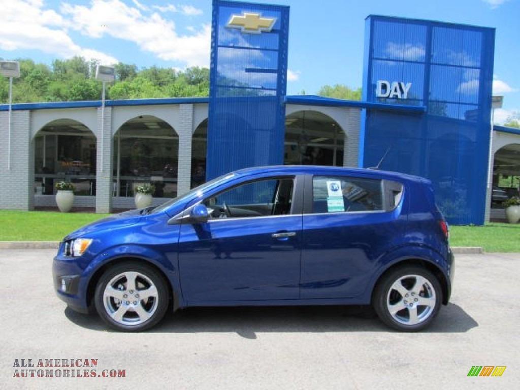 2012 Chevrolet Sonic Ltz Hatch In Blue Topaz Metallic