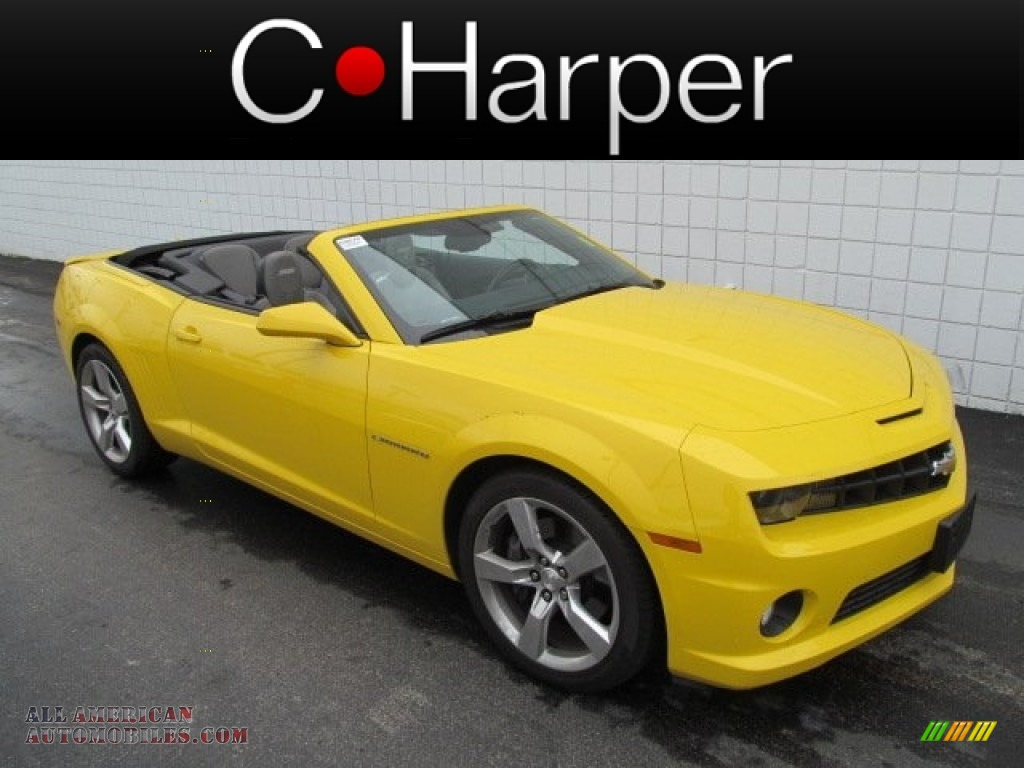 2011 chevrolet camaro ss rs convertible in rally yellow 177325 all. Cars Review. Best American Auto & Cars Review