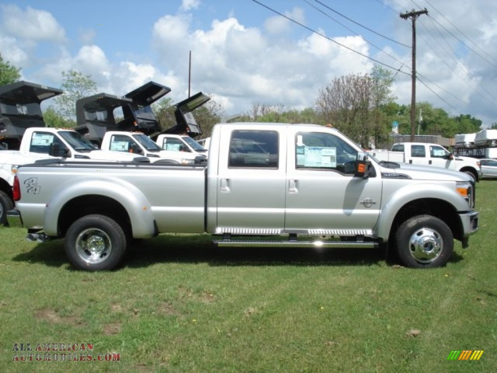 2012 ford f450 super duty lariat crew cab 4x4 dually in ingot silver photo 2 b95323 all. Black Bedroom Furniture Sets. Home Design Ideas
