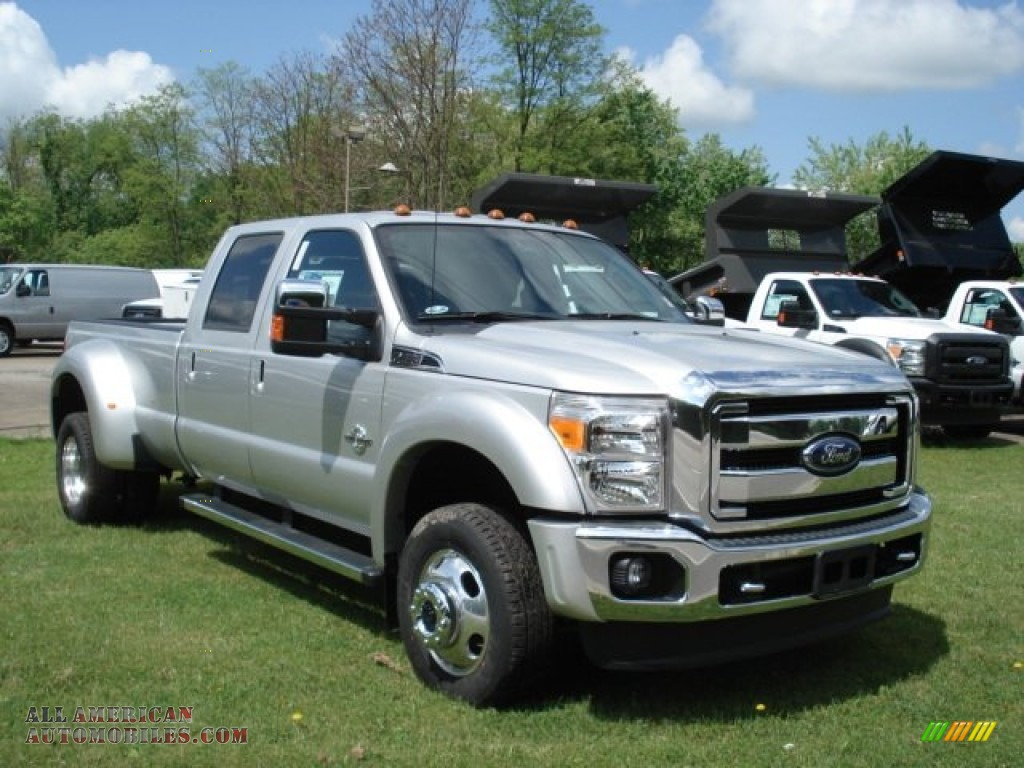 2012 ford f450 super duty lariat crew cab 4x4 dually in ingot silver photo 3 b95323 all. Black Bedroom Furniture Sets. Home Design Ideas