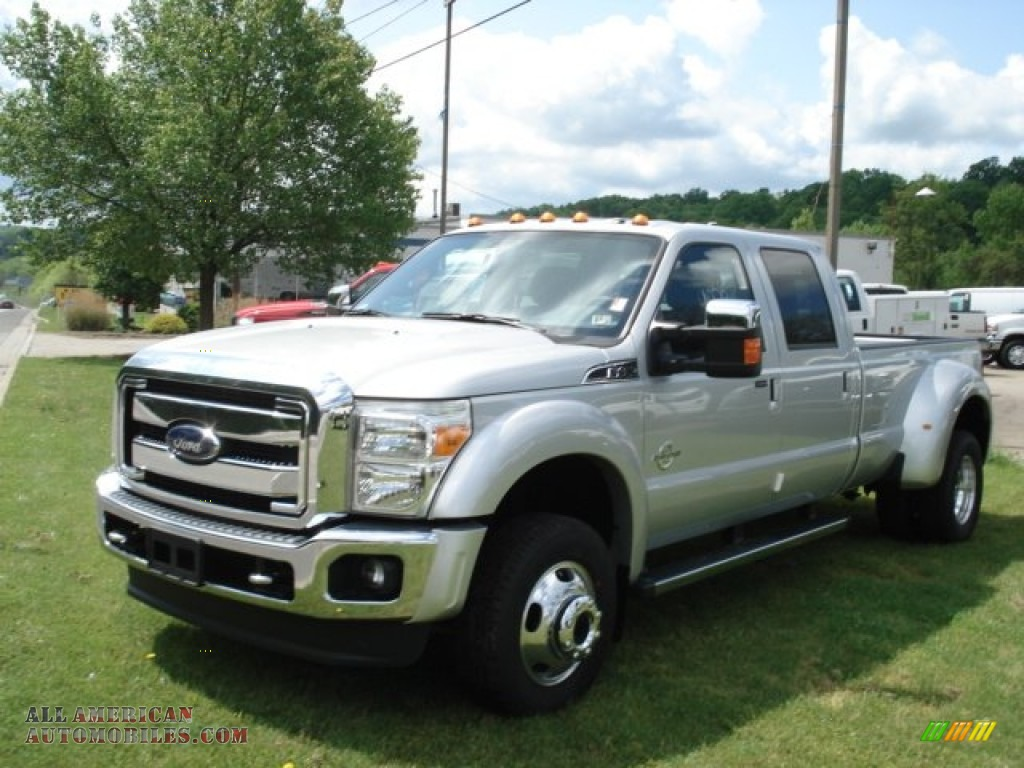 2012 ford f450 super duty lariat crew cab 4x4 dually in ingot silver photo 5 b95323 all. Black Bedroom Furniture Sets. Home Design Ideas