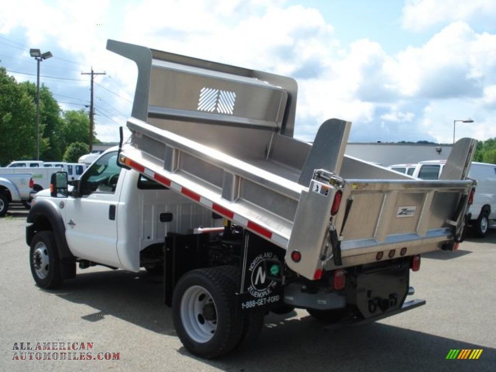 Dump Truck Brokers ... Duty XL Regular Cab 4x4 Dump Truck in Oxford White photo #6 - B46311