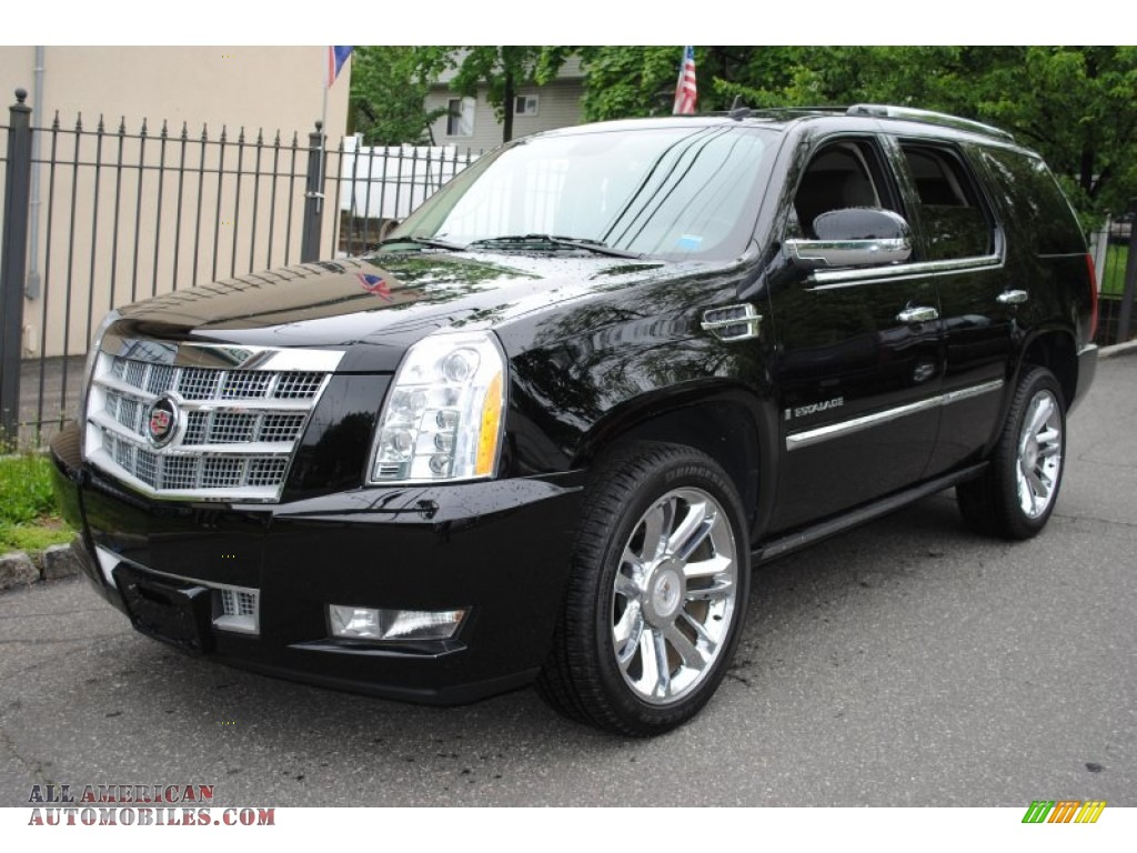 2009 cadillac escalade platinum awd in black raven 197855 all american automobiles buy. Black Bedroom Furniture Sets. Home Design Ideas