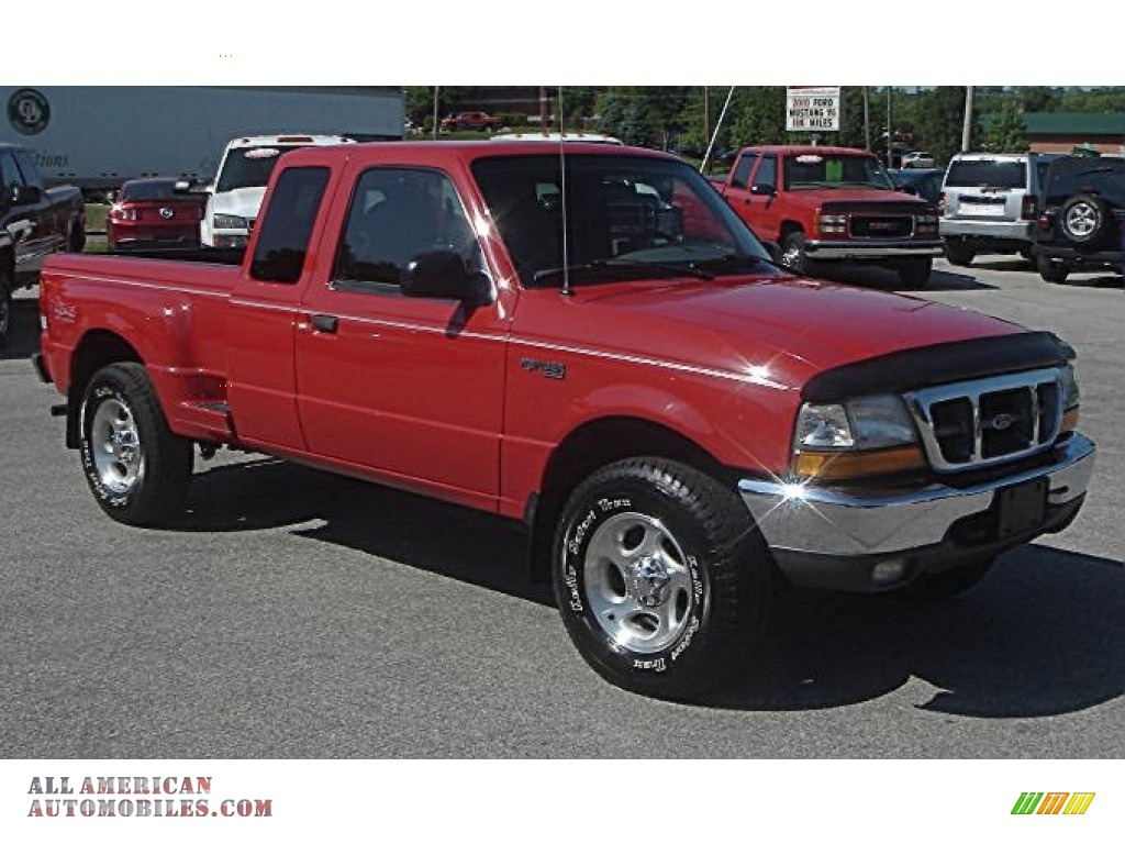 1999 ford ranger xlt extended cab 4x4 in bright photo 32 b14351 all american