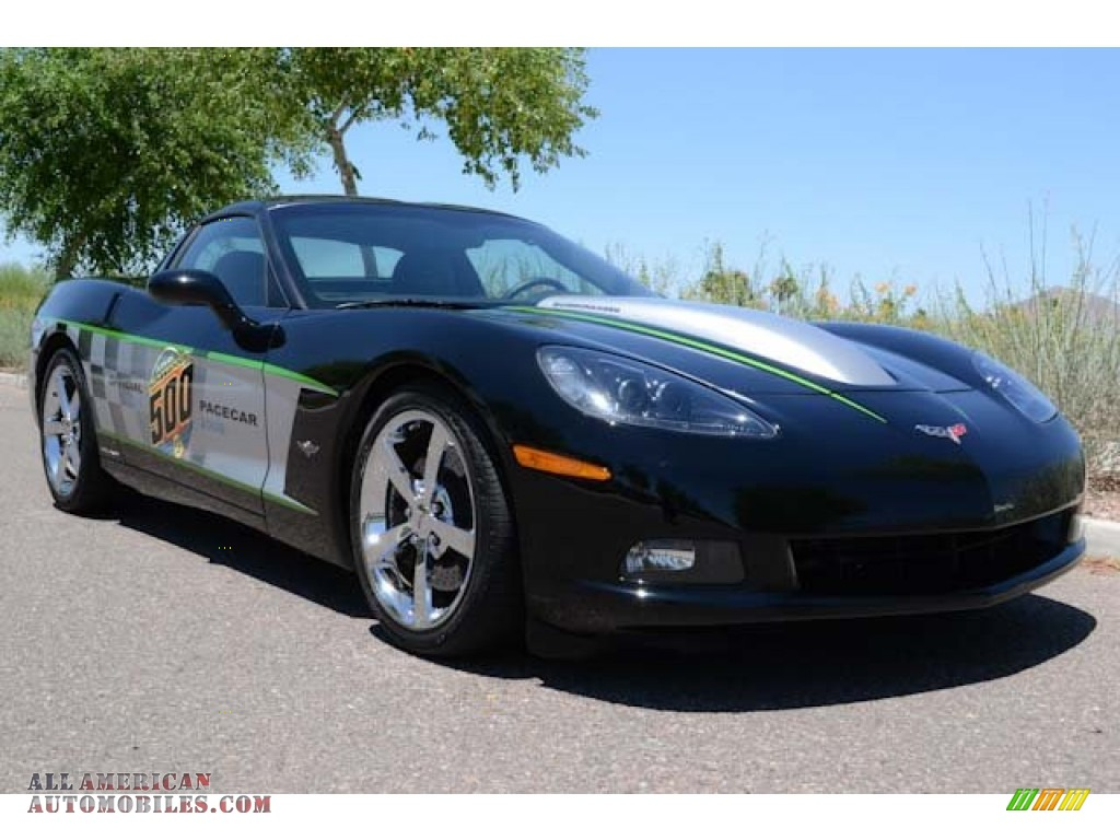 2008 chevrolet corvette callaway indy 500 pace car coupe in black 132553 all american. Black Bedroom Furniture Sets. Home Design Ideas