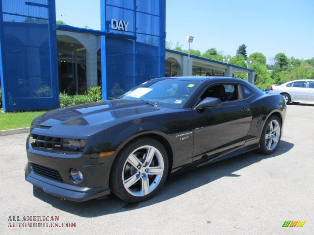 2012 chevrolet camaro ss rs coupe in black 203214 all american automobiles buy american. Black Bedroom Furniture Sets. Home Design Ideas
