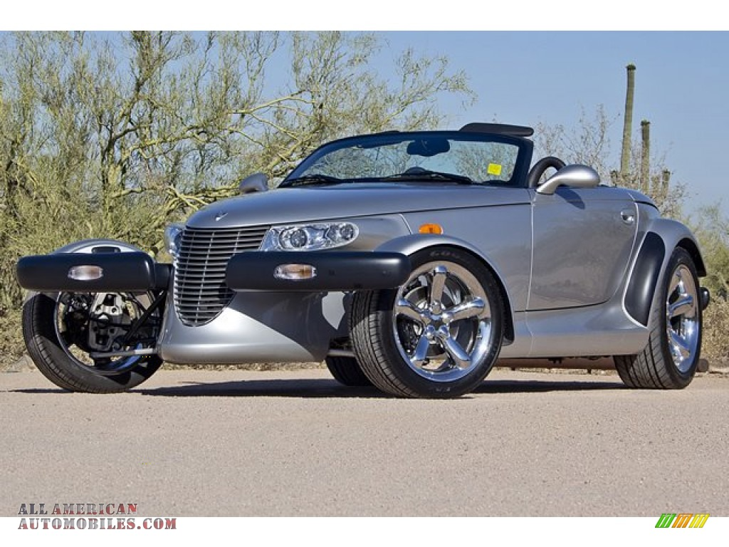 2001 Plymouth Prowler Roadster In Prowler Silver Metallic