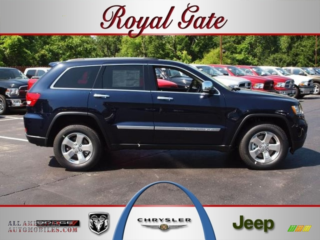 2012 jeep grand cherokee limited 4x4 in true blue pearl for Royal chrysler motors inc