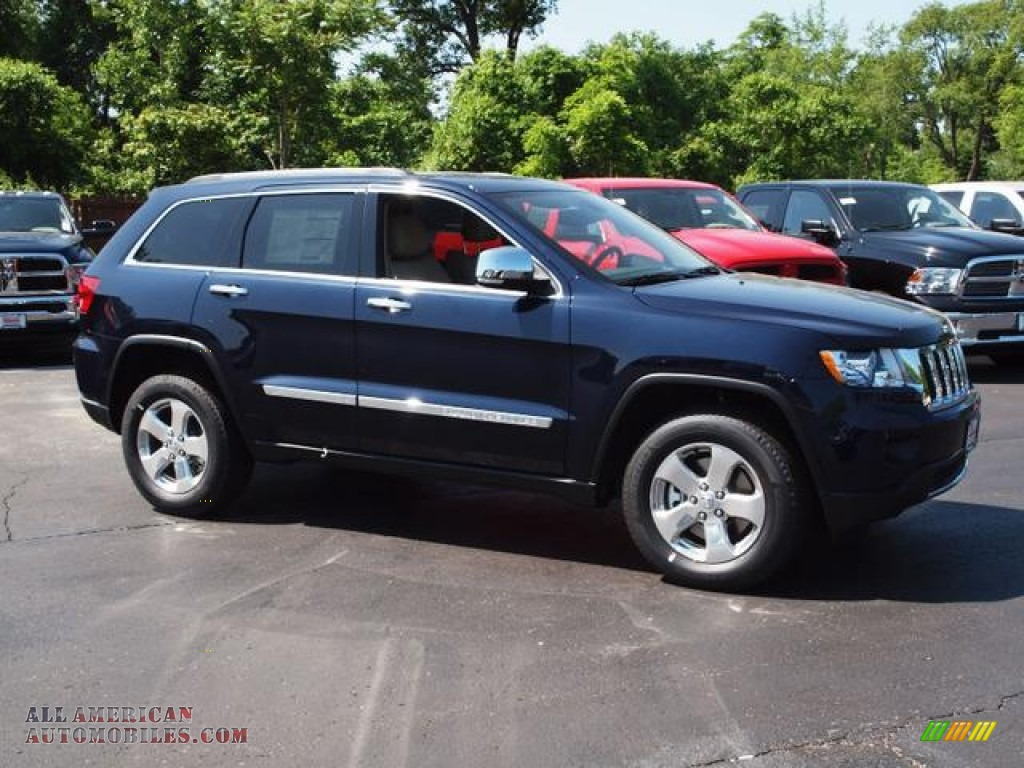 Honda Dealer St Louis 2012 Jeep Grand Cherokee Limited 4x4 in True Blue Pearl ...