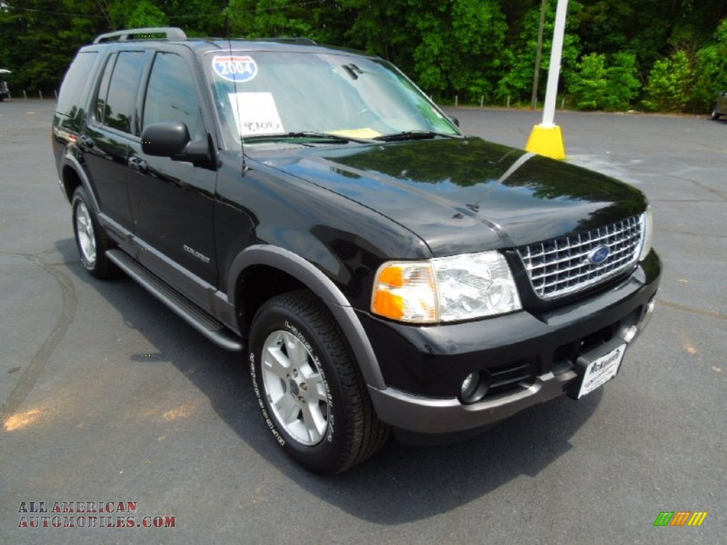 2004 ford explorer xlt 4x4 in black c31464 all american automobiles buy american cars for. Black Bedroom Furniture Sets. Home Design Ideas