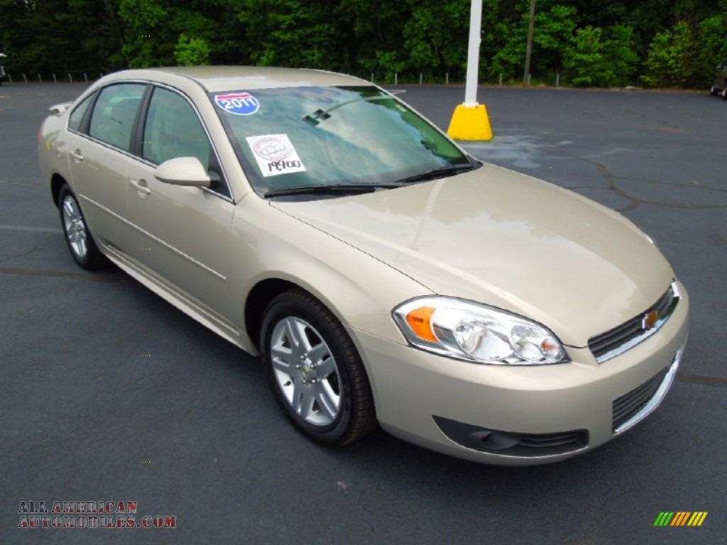 2011 chevrolet impala lt in gold mist metallic 204813 all american automobiles buy. Black Bedroom Furniture Sets. Home Design Ideas