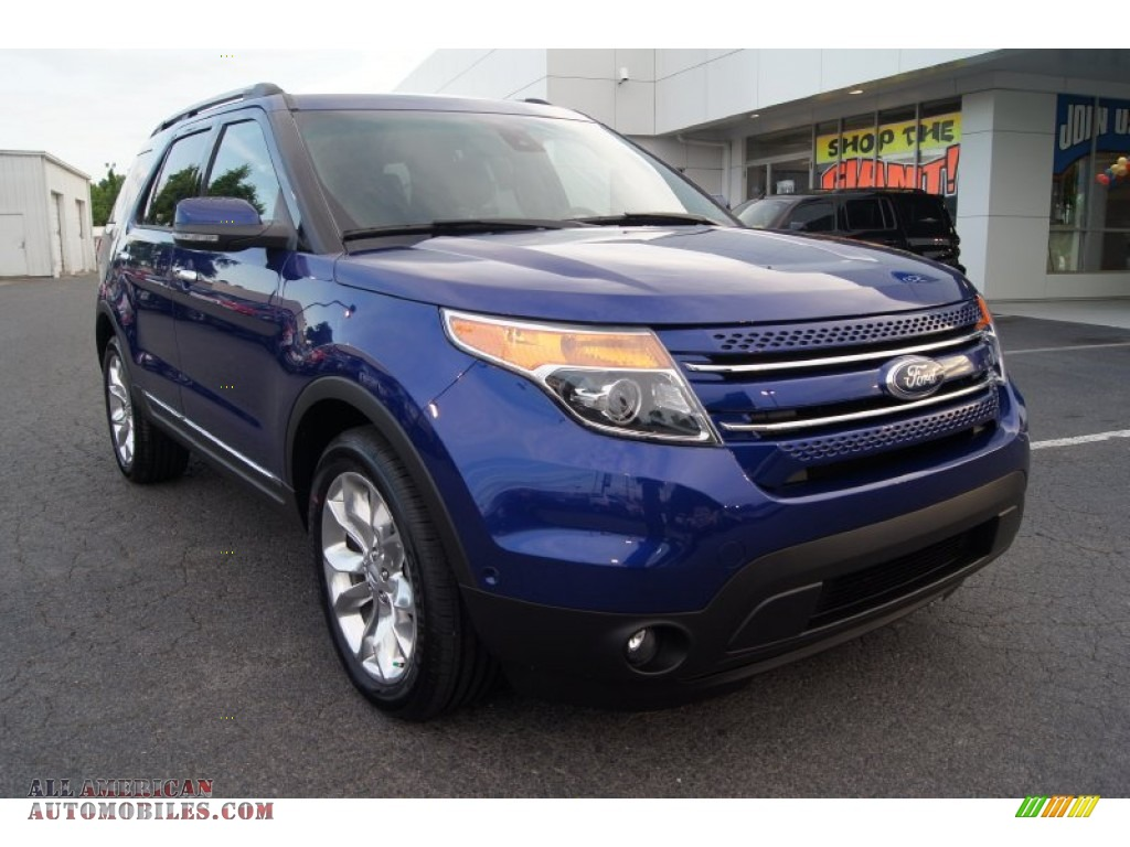 2013 ford explorer limited 4wd in deep impact blue metallic a53113. Cars Review. Best American Auto & Cars Review