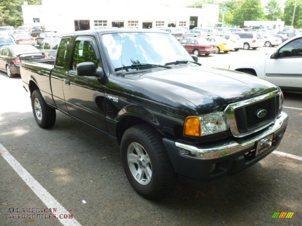 2004 ford ranger xlt supercab 4x4 in black a52878 all american automobiles buy american. Black Bedroom Furniture Sets. Home Design Ideas