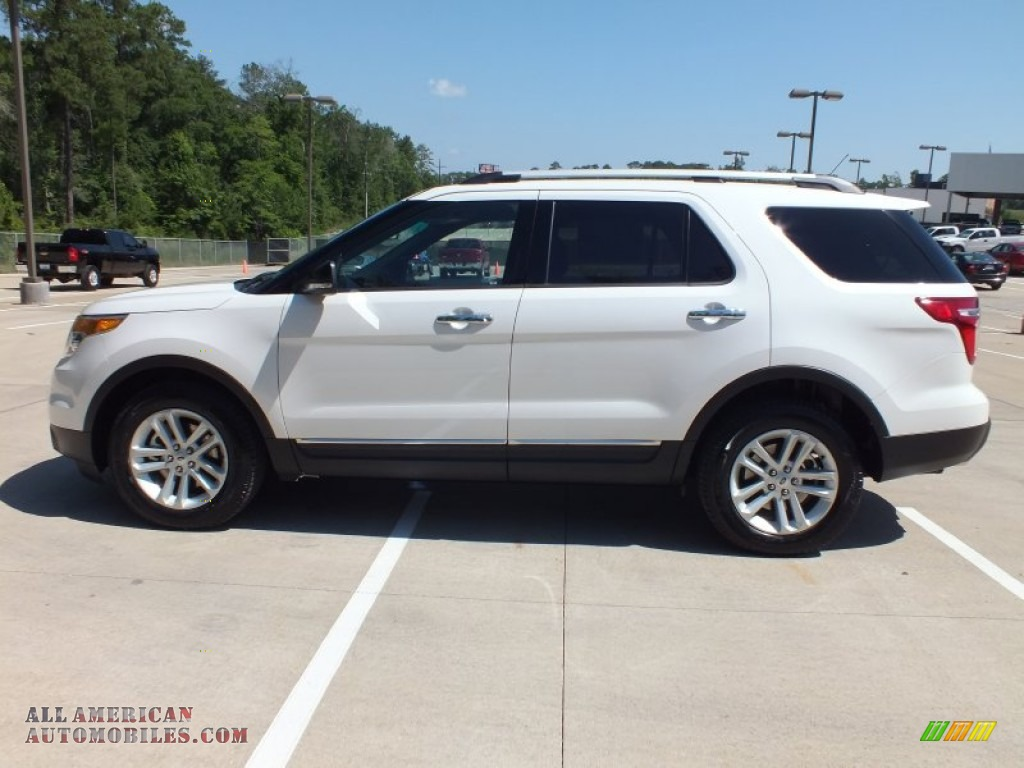 2013 ford explorer xlt in white platinum tri coat photo 8 a54197 all american automobiles. Black Bedroom Furniture Sets. Home Design Ideas