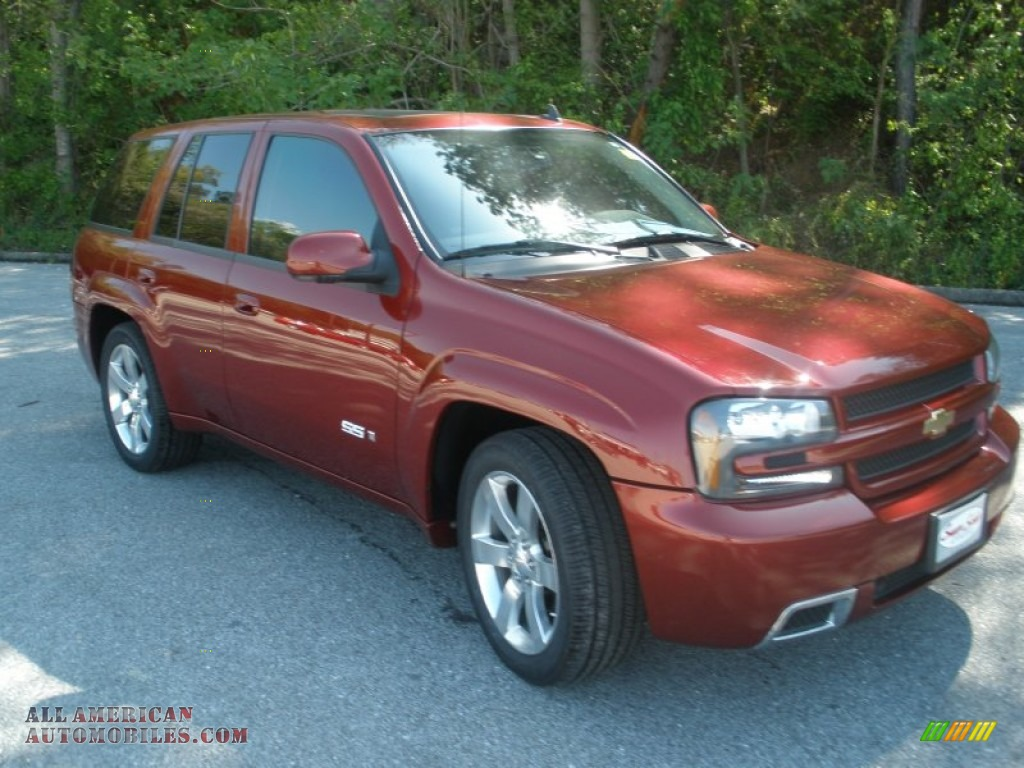 2008 chevrolet trailblazer ss in red jewel 184888 all american automobiles buy american. Black Bedroom Furniture Sets. Home Design Ideas