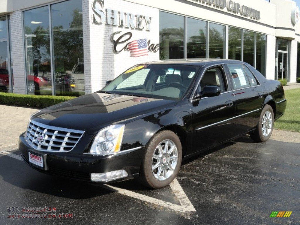 2011 cadillac dts luxury in black raven 148960 all american automobiles buy american cars. Black Bedroom Furniture Sets. Home Design Ideas