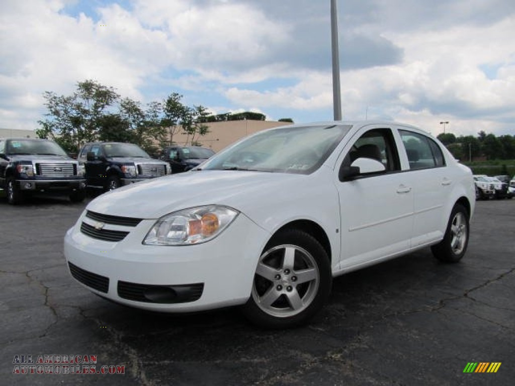 2007 chevrolet cobalt lt sedan in summit white 333923. Black Bedroom Furniture Sets. Home Design Ideas