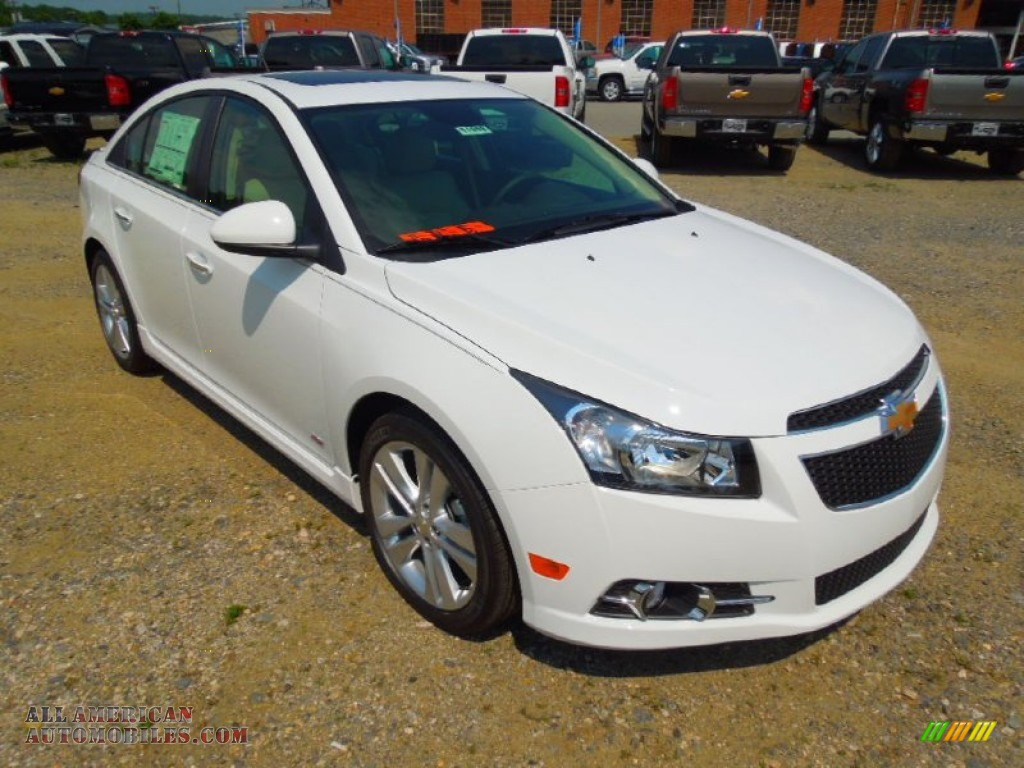 2012 chevrolet cruze ltz rs in summit white 342420 all american automobiles buy american. Black Bedroom Furniture Sets. Home Design Ideas