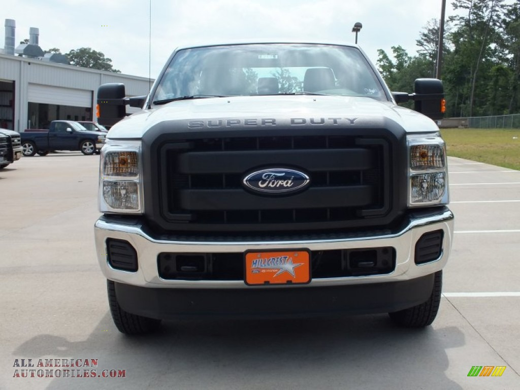 2012 Ford F250 Super Duty XL SuperCab 4x4 in Oxford White photo #10 ...