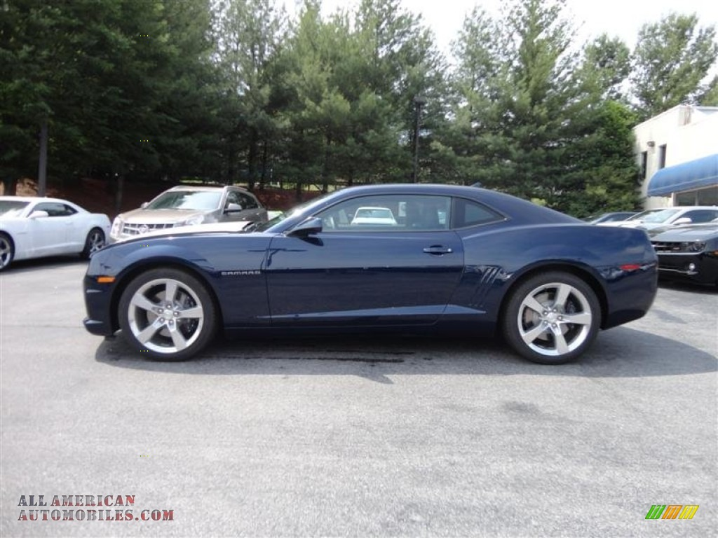 2012 Chevrolet Camaro Ss Rs Coupe In Imperial Blue