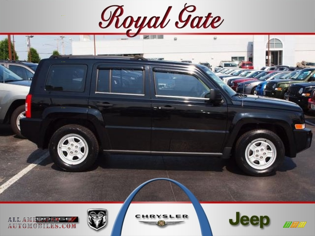 2007 jeep patriot sport in black clearcoat 399539 all for Royal chrysler motors inc