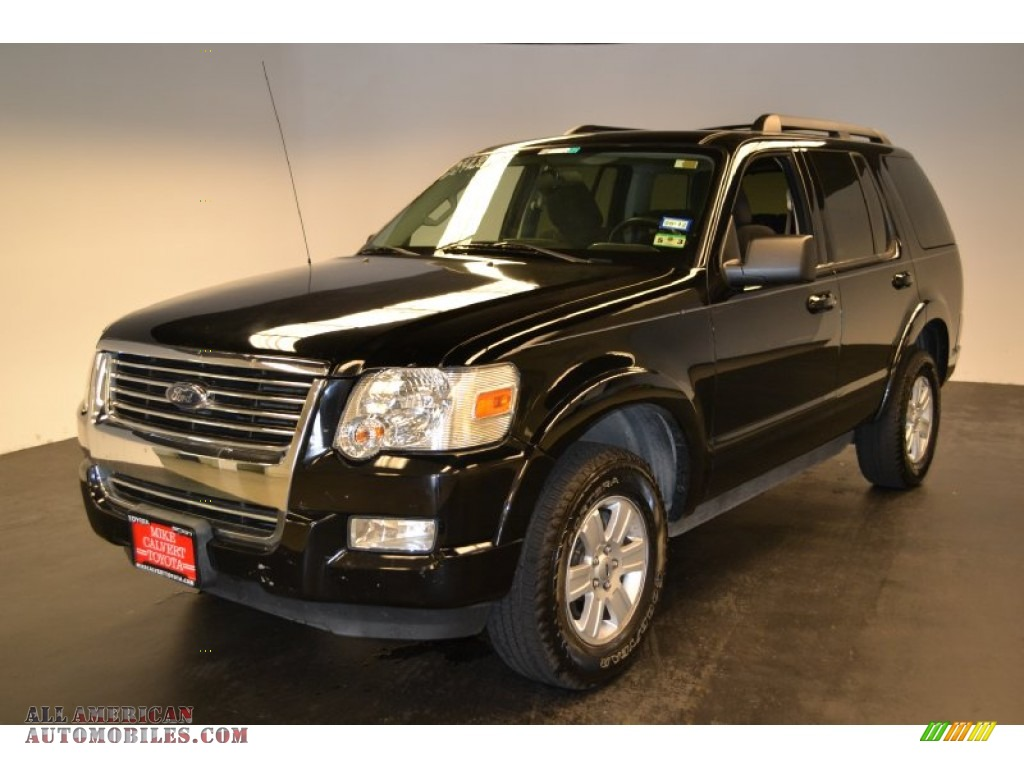 2010 ford explorer xlt in black a62701 all american automobiles buy american cars for sale. Black Bedroom Furniture Sets. Home Design Ideas