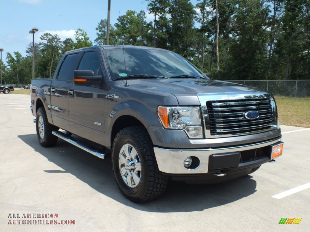 2011 Ford F150 Xlt Supercrew 4x4 In Sterling Grey Metallic