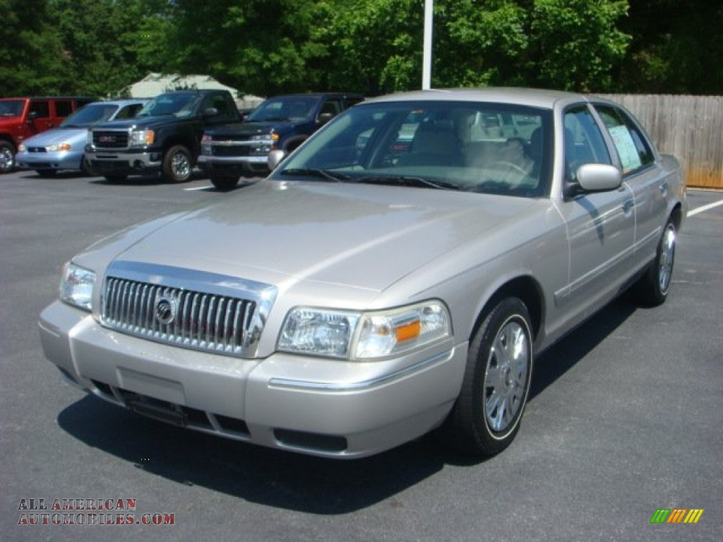 2006 Mercury Grand Marquis Gs In Silver Birch Metallic