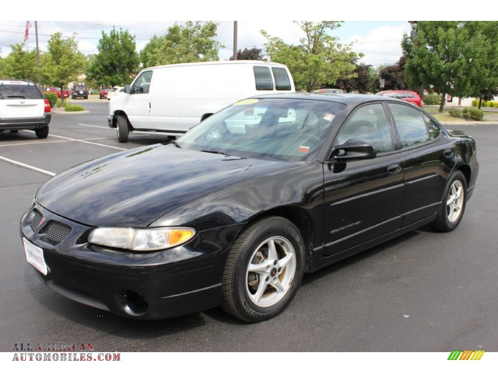 2003 Pontiac Grand Prix Gt Sedan In Black 177627 All American Automobiles Buy American