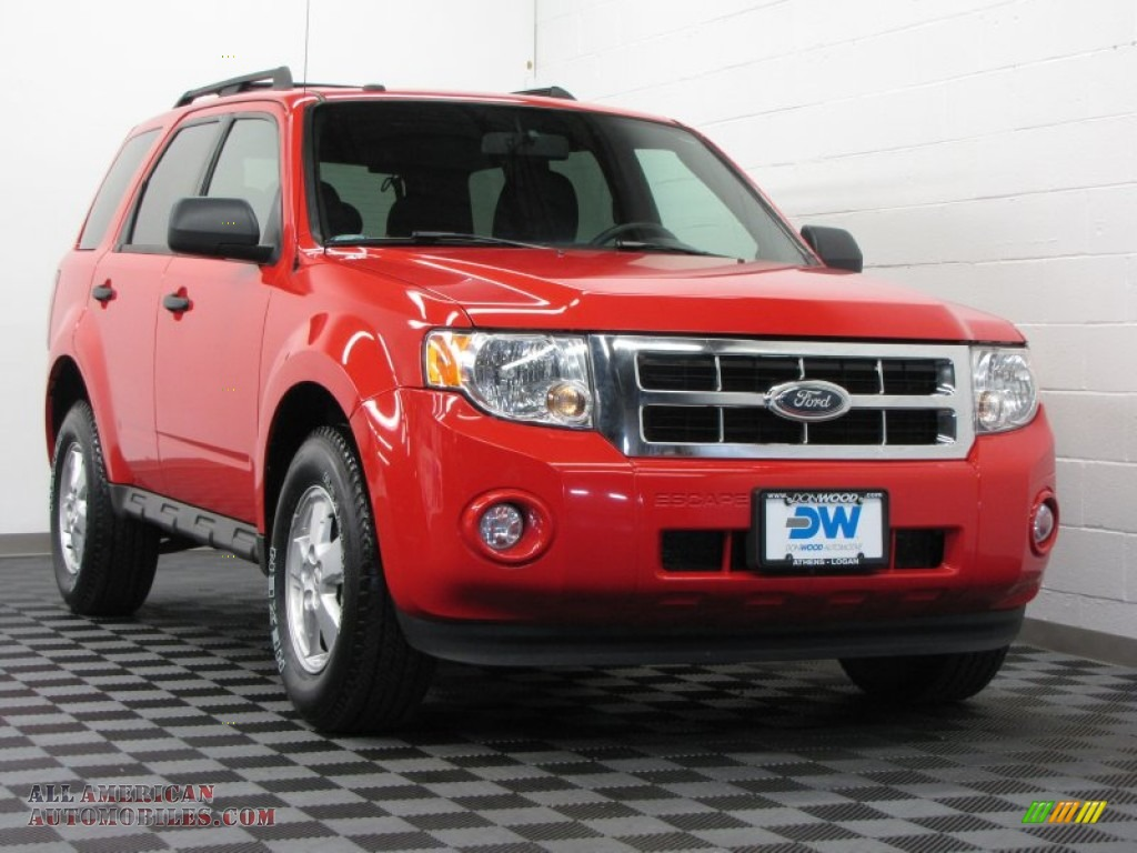 2009 ford escape xlt 4wd in torch red a20523 all. Black Bedroom Furniture Sets. Home Design Ideas