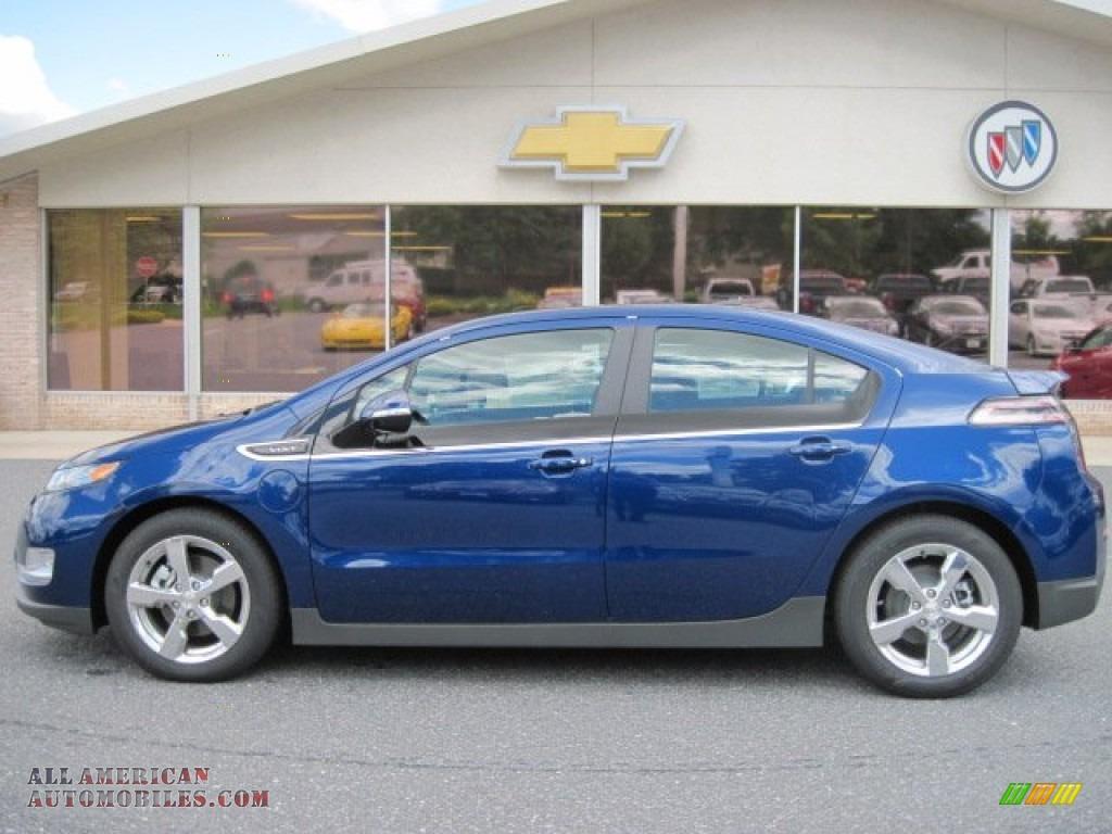 2012 Chevrolet Volt Hatchback In Blue Topaz Metallic Photo