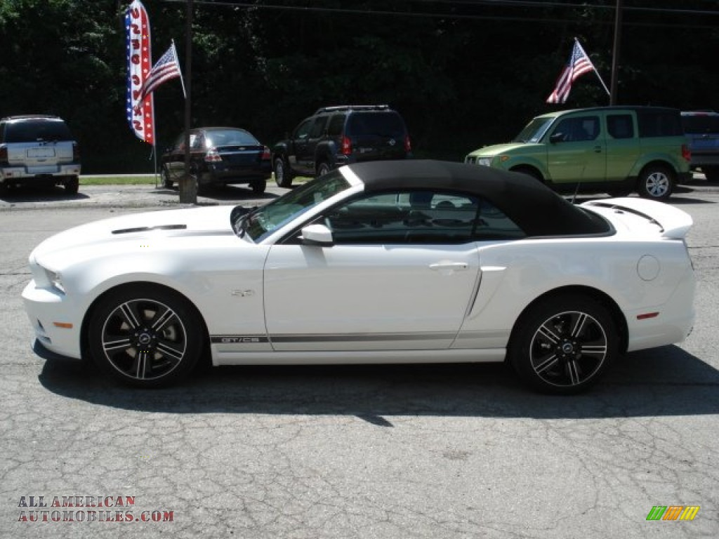 2013 mustang gtcs california special convertible performance white california special charcoal black