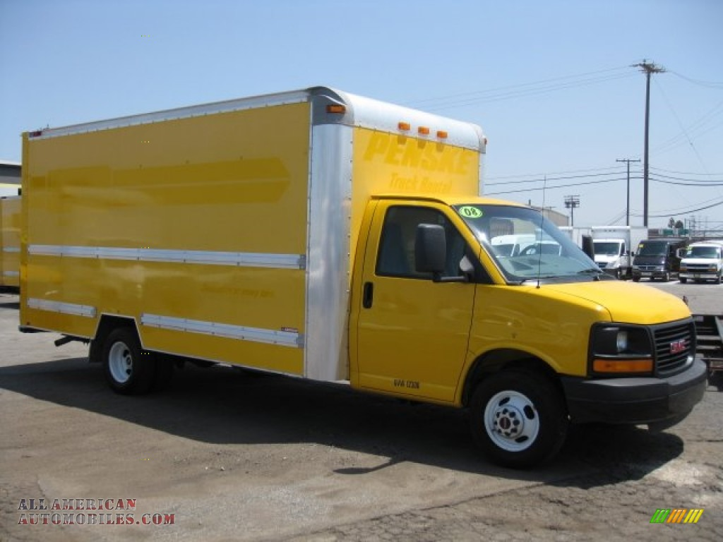2008 Gmc Savana Cutaway 3500 Commercial Moving Truck In