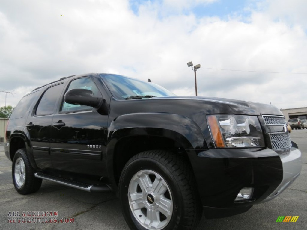2012 chevrolet tahoe z71 4x4 in black 318066 all american automobiles buy american cars. Black Bedroom Furniture Sets. Home Design Ideas