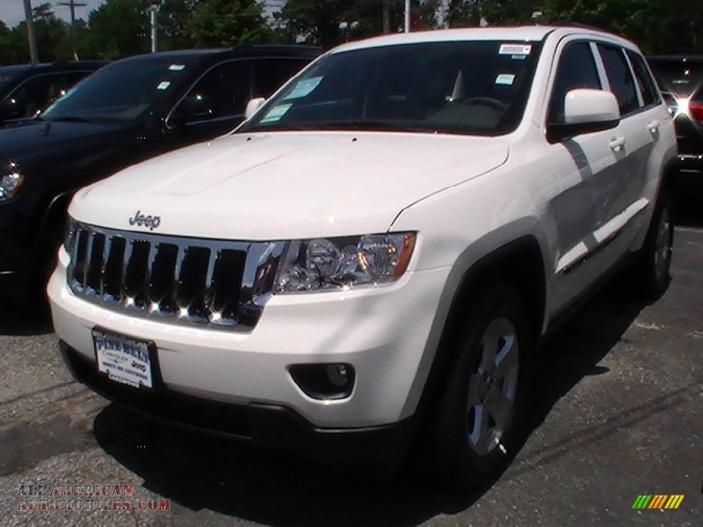 2012 jeep grand cherokee laredo 4x4 in stone white 332919 all american automobiles buy. Black Bedroom Furniture Sets. Home Design Ideas