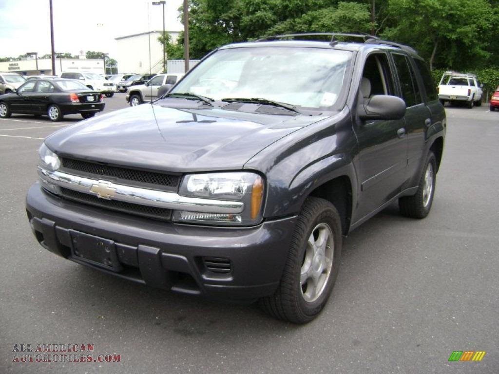 2007 Chevrolet Trailblazer Ls 4x4 In Graystone Metallic