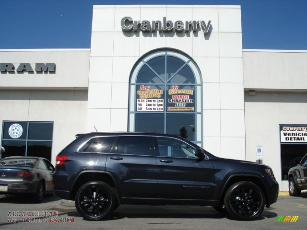 2012 Jeep Grand Cherokee Altitude 4x4 in Maximum Steel Metallic photo