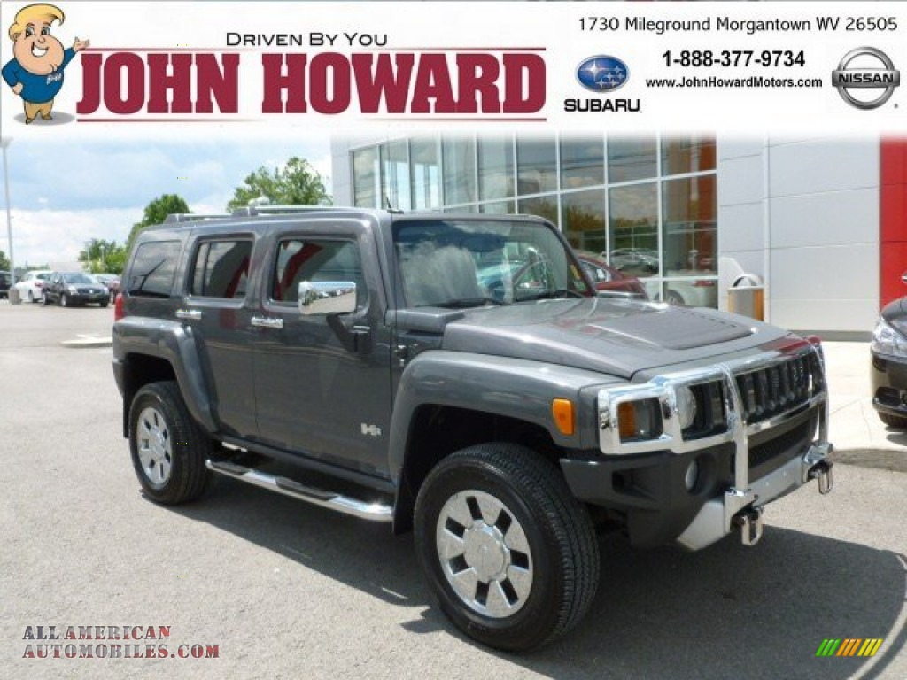 2008 Hummer H3 In Boulder Gray Metallic 103317 All
