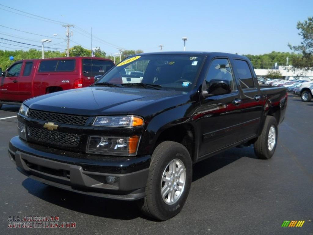 2012 chevrolet colorado lt crew cab 4x4 in black 113052 all american automobiles buy. Black Bedroom Furniture Sets. Home Design Ideas