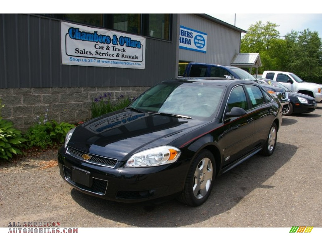2009 chevrolet impala ss in black 185583 all american. Black Bedroom Furniture Sets. Home Design Ideas