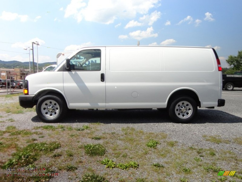 2012 chevrolet express 1500 cargo van in summit white photo 3 178885 all american. Black Bedroom Furniture Sets. Home Design Ideas