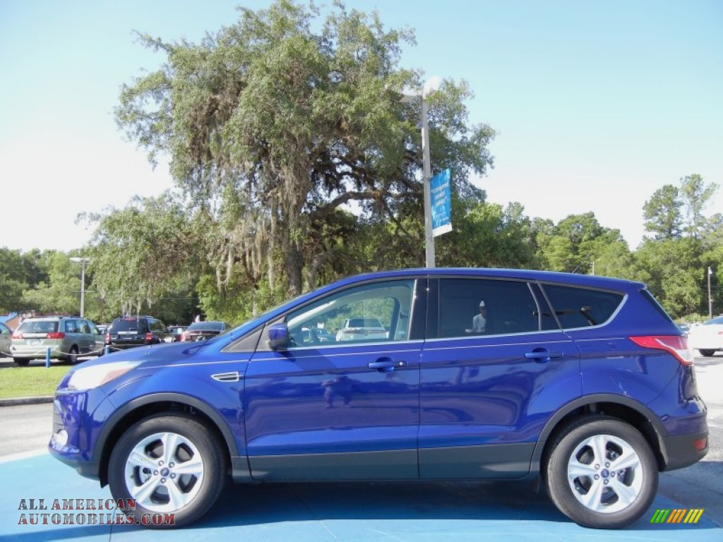 2013 Escape SE 1.6L EcoBoost - Deep Impact Blue Metallic / Medium Light Stone photo #2